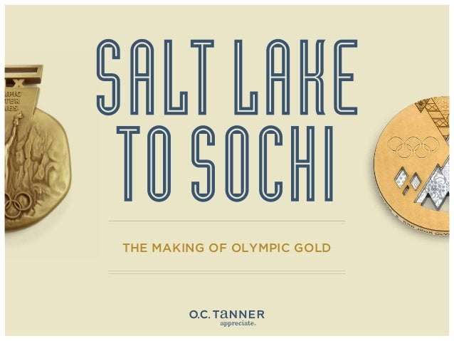 Salt Lake to Sochi - The Making of Olympic Gold
