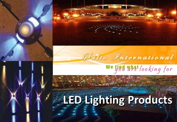 S A L T O  International  Lighting  Products