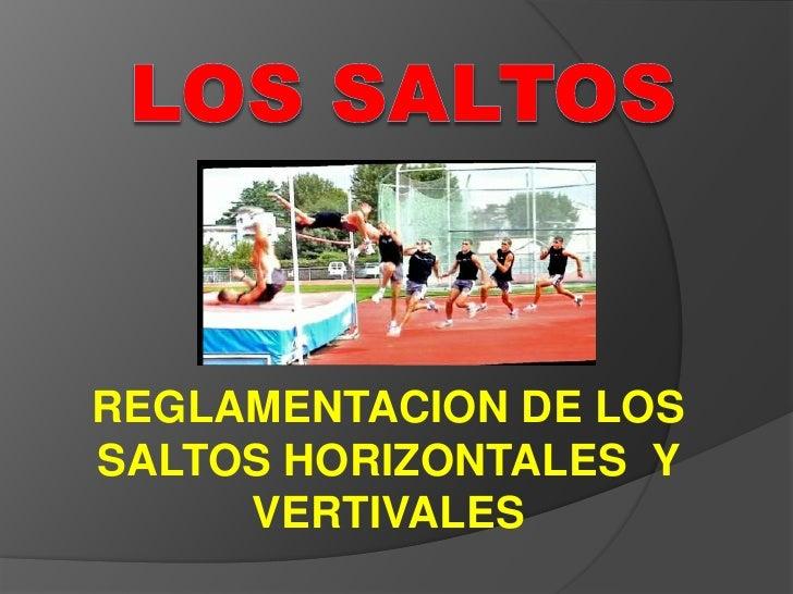 Saltos En Atletismo