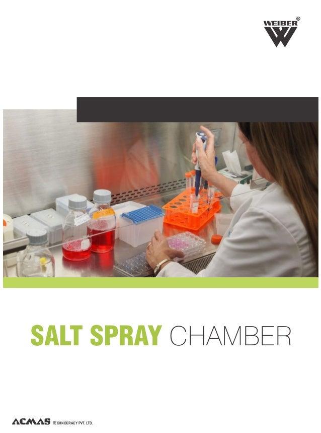 TECHNOCRACY PVT. LTD. R SALT SPRAY CHAMBER