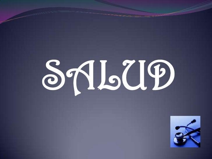 SALUD<br />