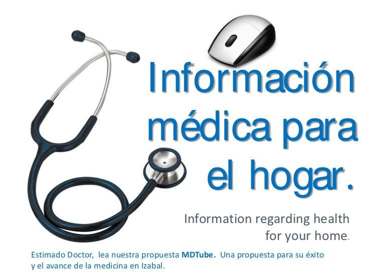 MDTube - Información medica para el hogar