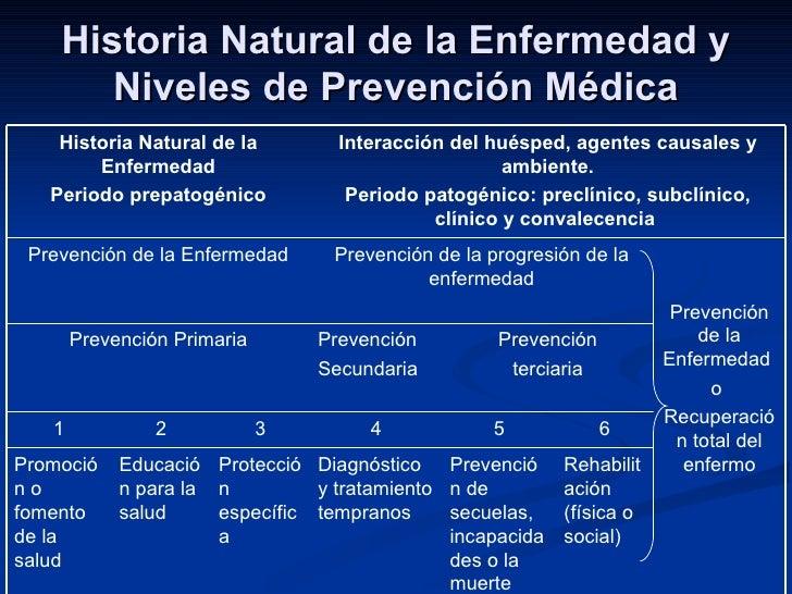 etapas salud y enfermedad