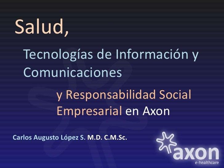 Salud, TIC