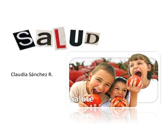 Claudia Sánchez R.