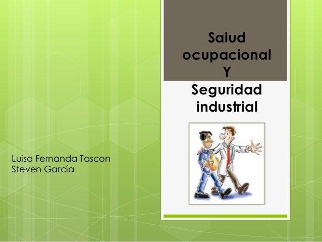 Salud                        ocupacional                              Y                         Seguridad                 ...