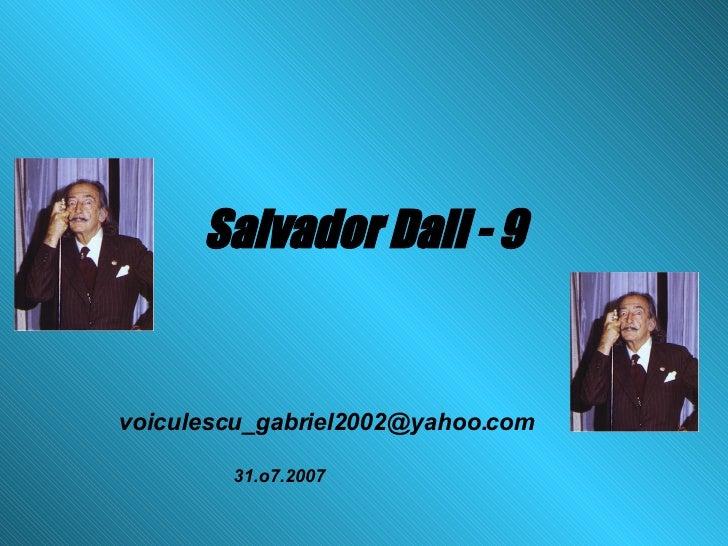Salvador Dali   9
