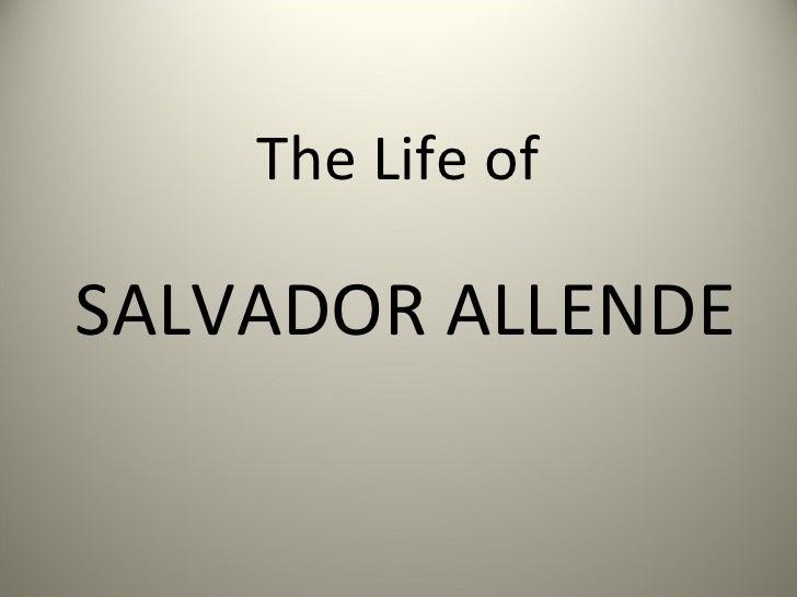 Salvador Allende 2003