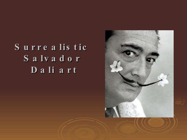 Surrealistic  Salvador  Dali art