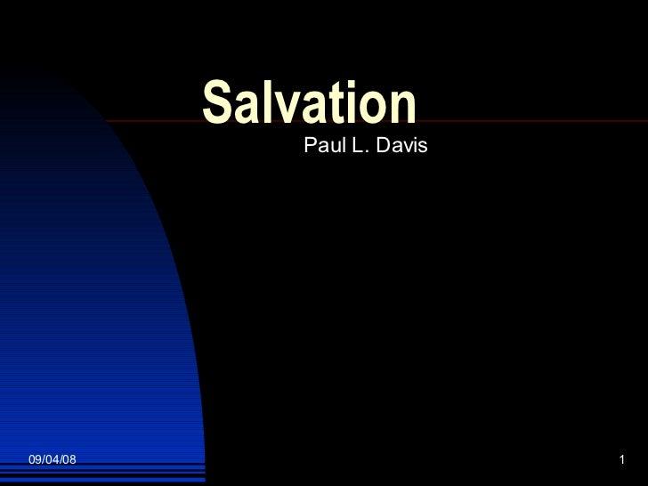 Salvation Slideshow