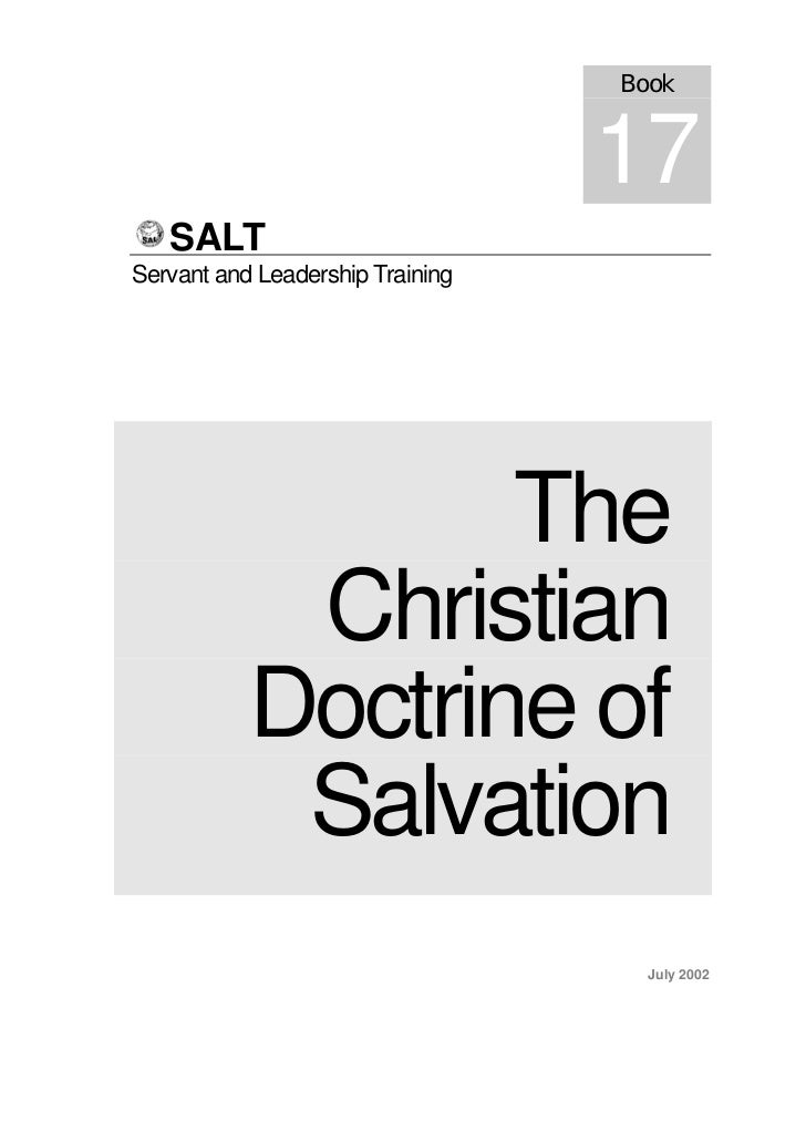 Book                                  17   SALTServant and Leadership Training                  The            Christian  ...