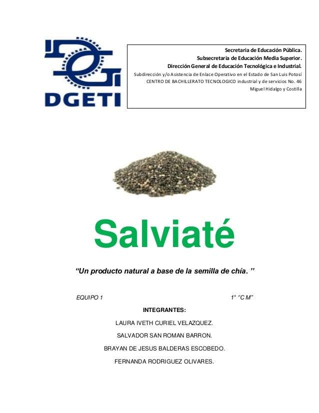 Salviaté (Proyecto de TICS)