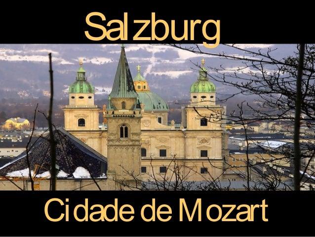 SalzburgCidade de Mozart