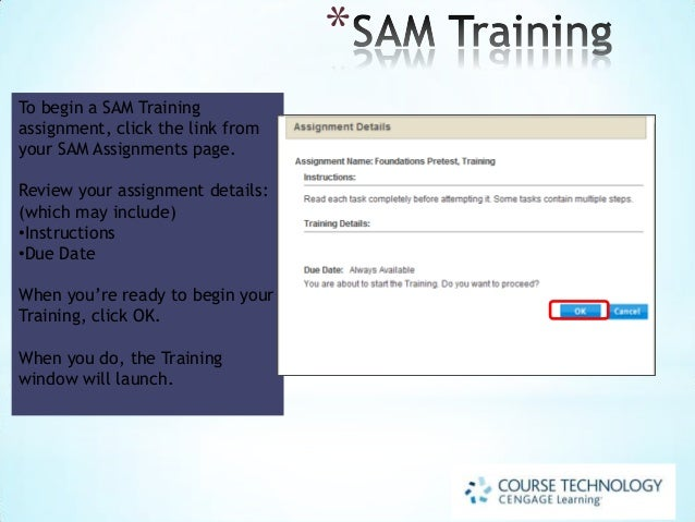 Sam assignment