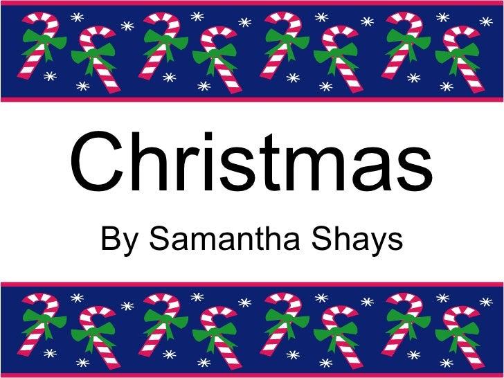Samanthas Celebration Project