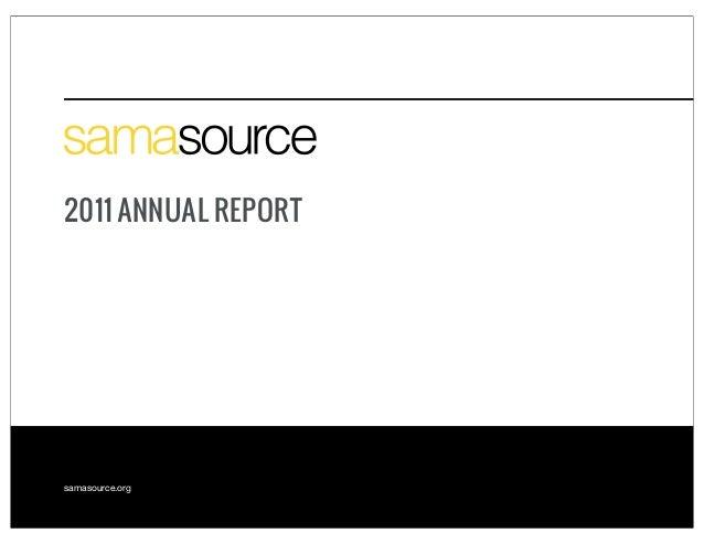 Samasource 2011 Annual Report
