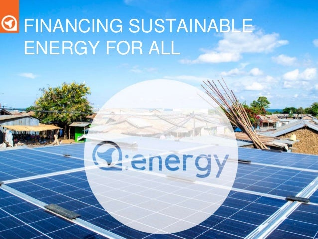 Financing sustainable energy for all with Sam Duby, of ...