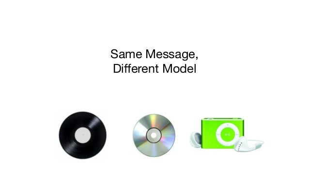 Same Message,  Different Model