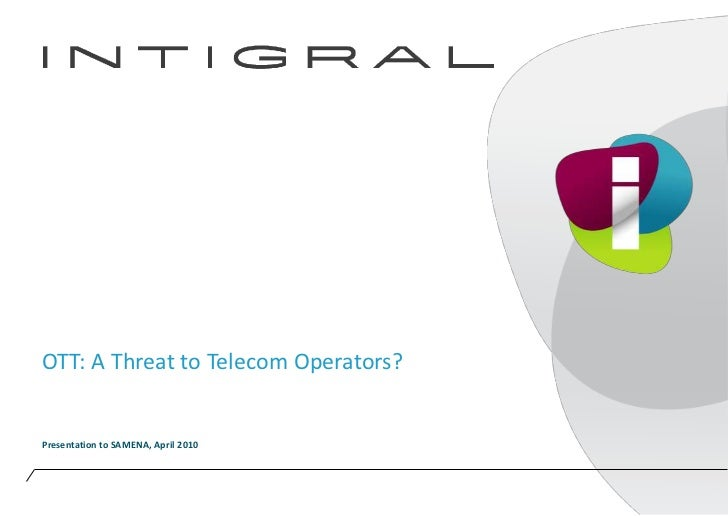 OTT TV: A Telco threat or opportunity?
