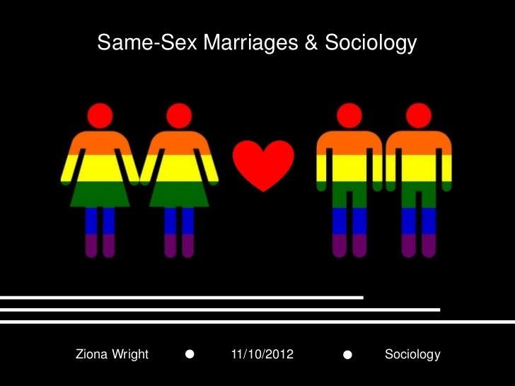 Same-Sex & Sociology