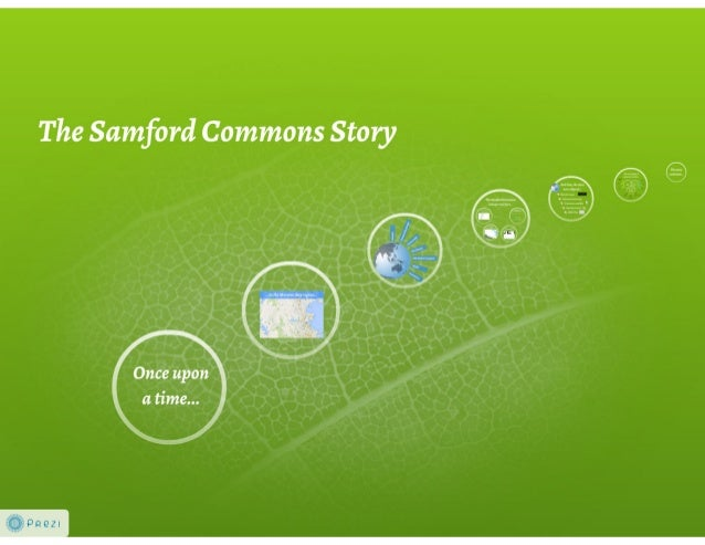 The Samford Commons story