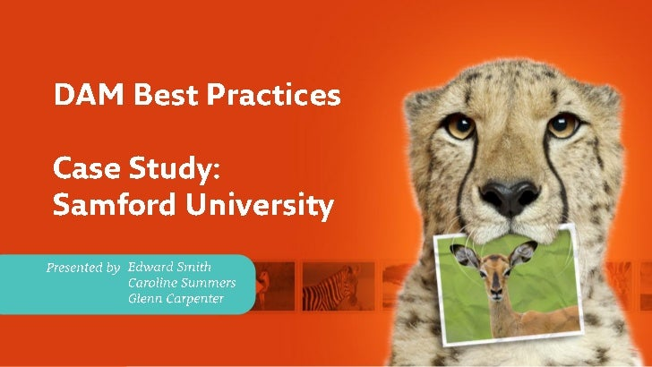 Samford University Case Study and Digital Asset Management Best Practices