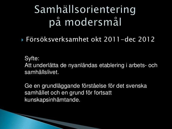 Samhällsorientering info120125