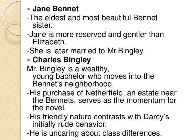 a paper on the character of elizabeth bennett in jane austens novel pride and prejudice The story revolves around the bennett daughters centrally, elizabeth and  in the novel, pride and prejudice, jane  pride and prejudice essay: the character.