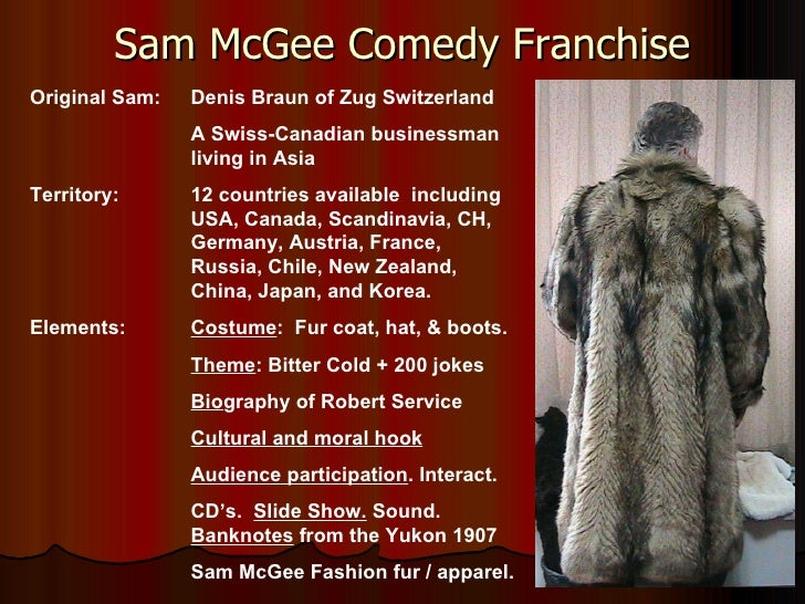 Sam  Mc Gee  Comedy  Franchise