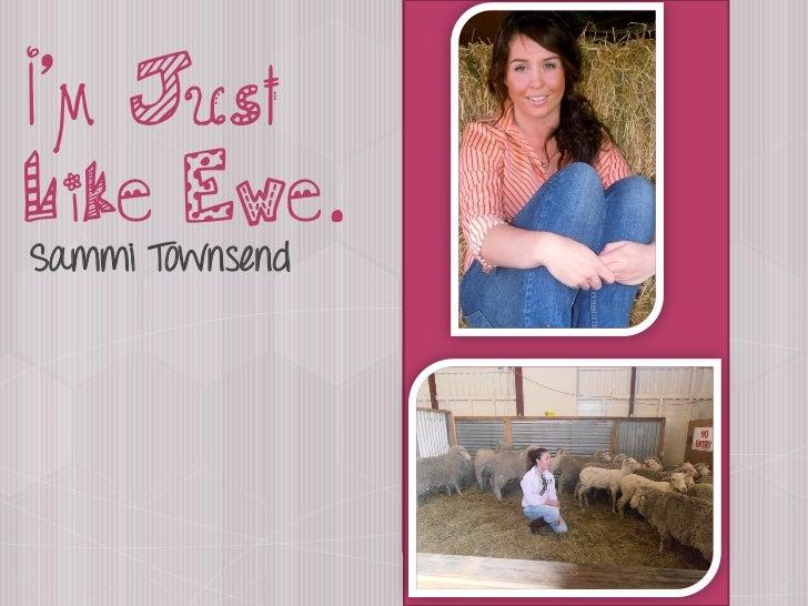 I am just Like Ewe by Sammi Townsend