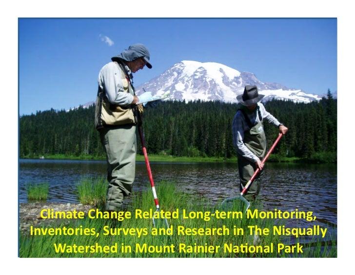 Climate Change Studies at Mount Rainier National Park