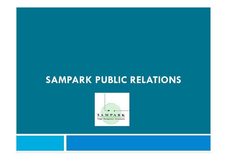 SAMPARK PUBLIC RELATIONS