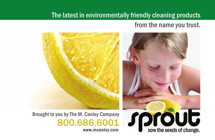 The latest in environmentally friendly cleaning products                                         from the name you trust. ...