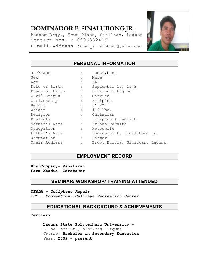 Write my professional resume sample