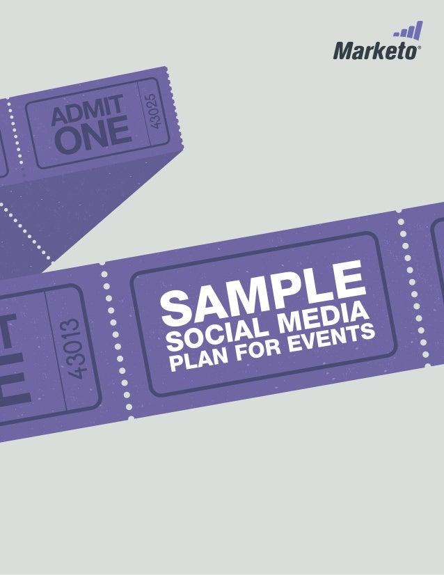 Social Media Plan for Events