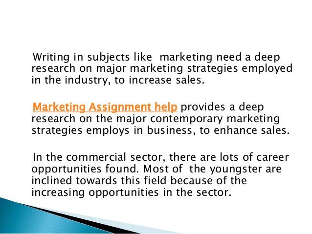 the major marketing strategies essay