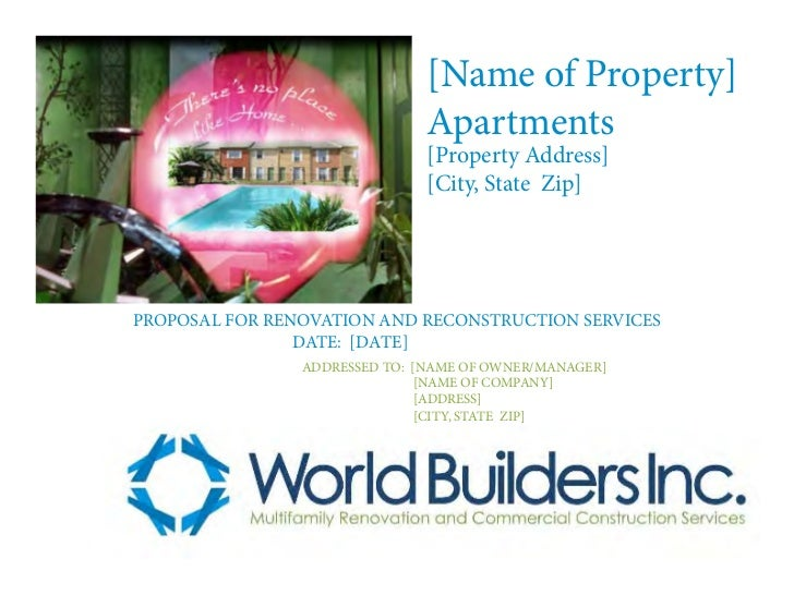 [Name of Property]                               Apartments                               [Property Address]              ...