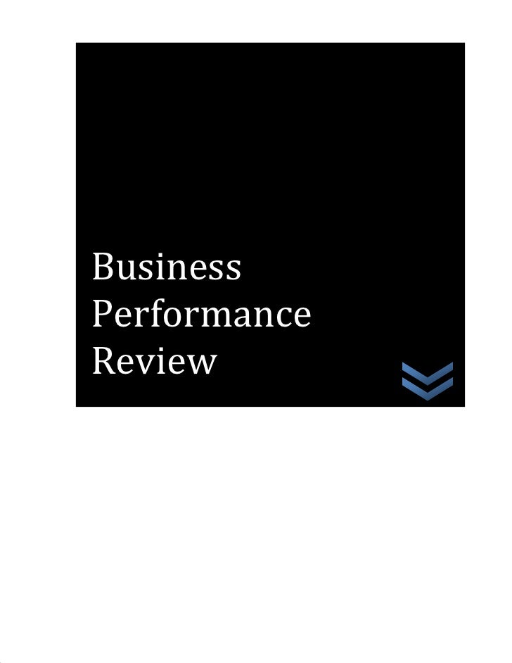 Business Performance Review