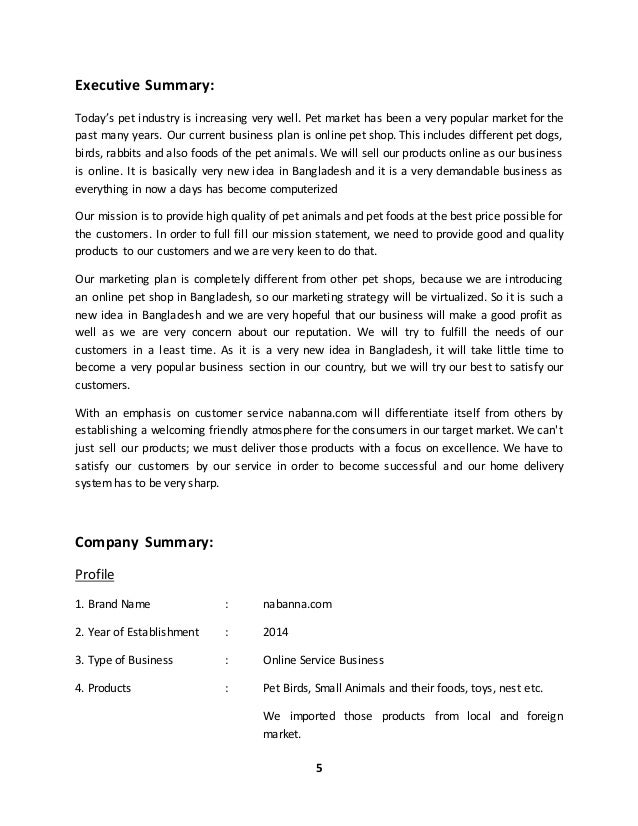 Online shopping proposal pdf
