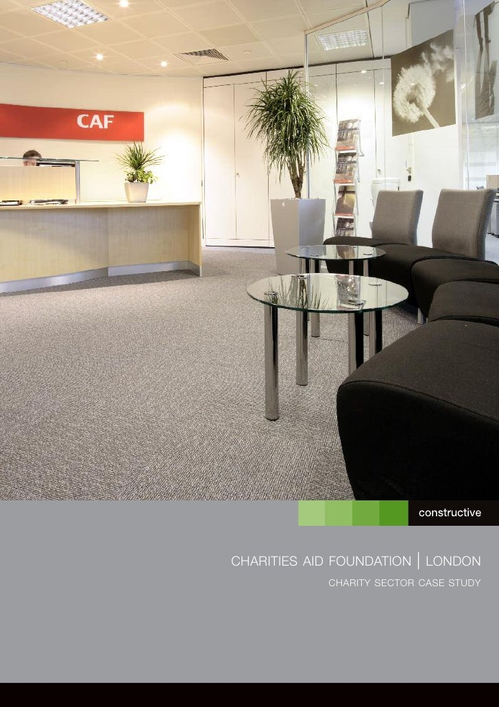 CHARITIES AID FOUNDATION   | LONDON             CHARITY SECTOR CASE STUDY