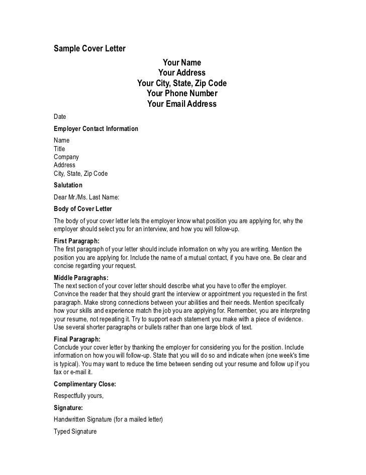 Address Berkeley Cover Letter