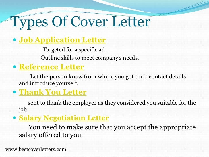 How to write an application letter yourself