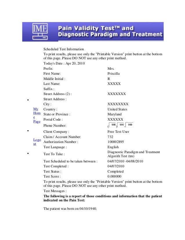 Sample diagnostic paradigm and treamtent algorithm