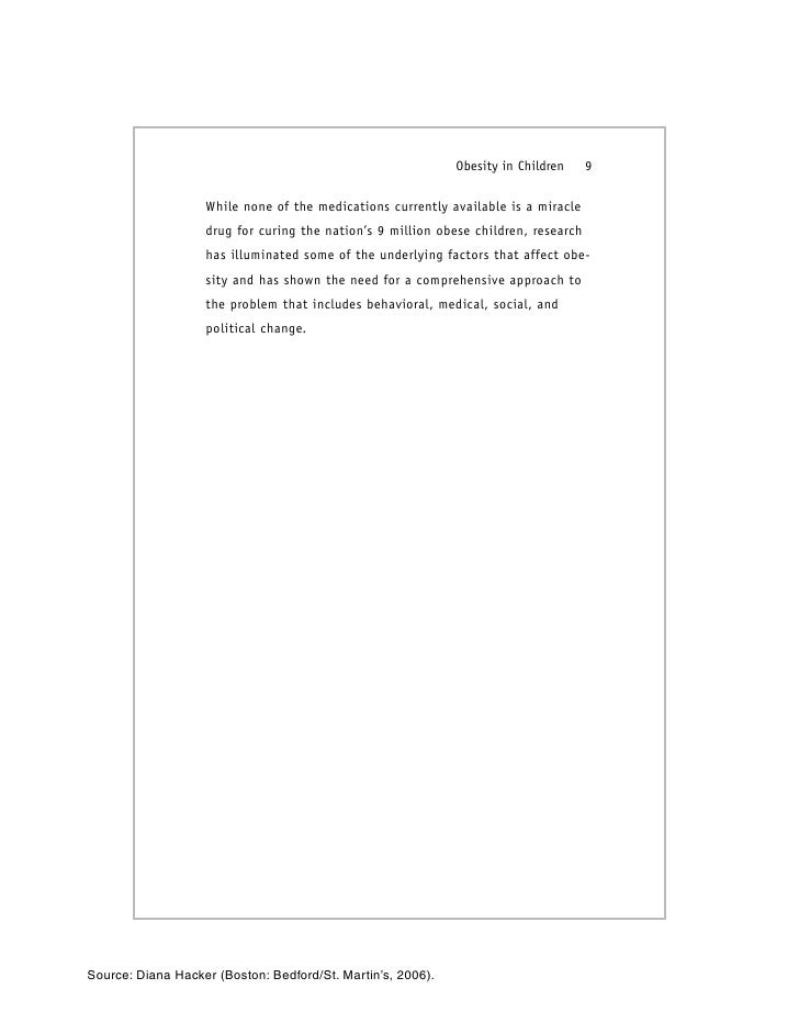 Research paper obesity introduction