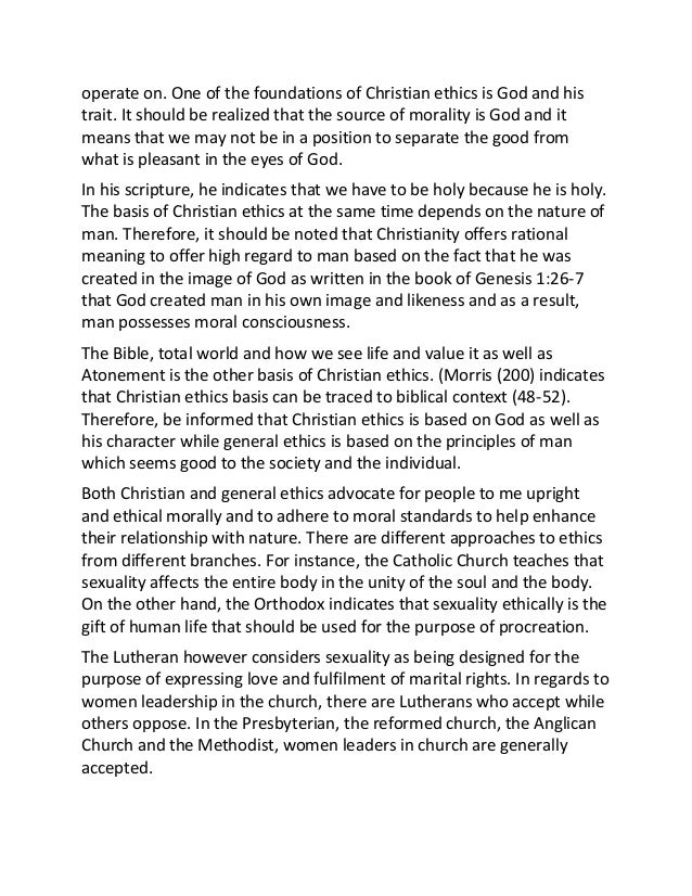of morality and spirituality 3 essay Spirituality and moral development 41 spirituality and moral development among students at a christian college krista m hernandez abstract this descriptive.
