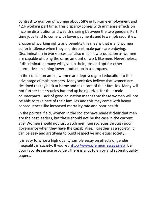 role essay gender role essay