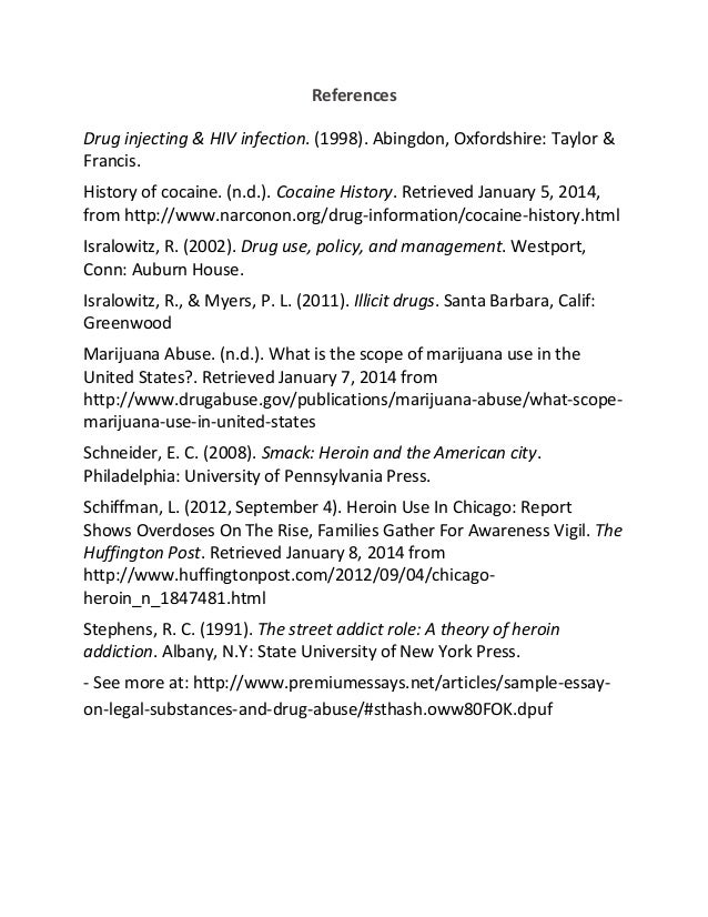 term paper on drug abuse 2010-12-22  enjoy free essays, examples of research papers, sample term papers, free dissertation samples and paper writing tips for all students example papers and sample papers on the most popular topics.