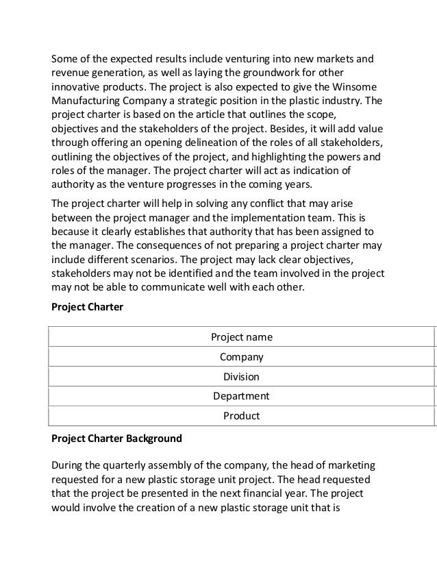 How to write an essay about how I did a project?