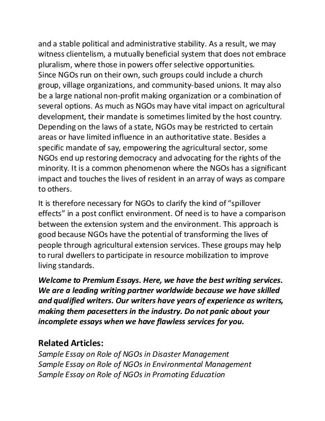 Department Of Agriculture Essays (Examples)