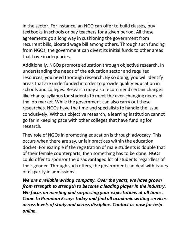 Essay On Need Of Education